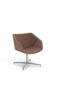 Isotta Soft Armchair - Swivel