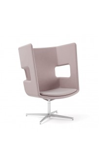 Poppea Plus Booth Seat - Swivel (Custom Order)
