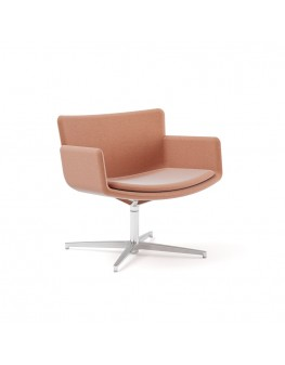 Poppea Plus Soft Armchair - Swivel (Custom Order)