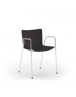 Poppea Chair - 4 Leg Loop Arm