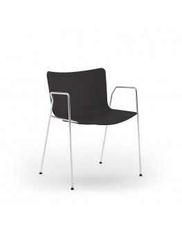 Poppea Mater Chair - 4 Leg Loop Arm