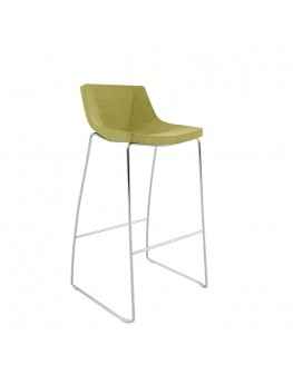 Skoop Soft Bar Stool - Sled