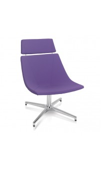 Skoop Soft Chair - High Back Swivel