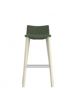 Miss Soft Bar Stool - 4 Leg Timber
