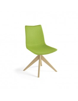 Miss Soft Chair - Swivel Pyramid Timber