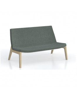 Mister - 2 Seater Lounge 4 Leg Timber Frame