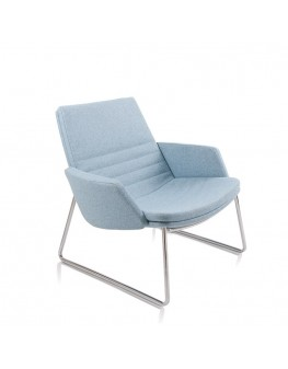 Mister Soft Armchair - Low Back Sled