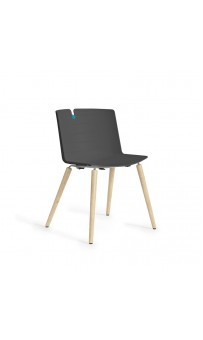 Mork Chair - 4 Leg Timber