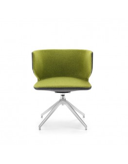 Mr Jones Soft Armchair - Swivel Pyramid