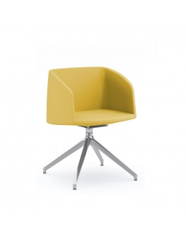 Nest Soft Armchair - Swivel Pyramid