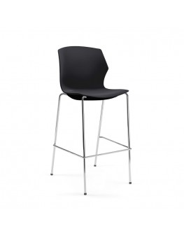 No-Frill Bar Chair - 4 Leg