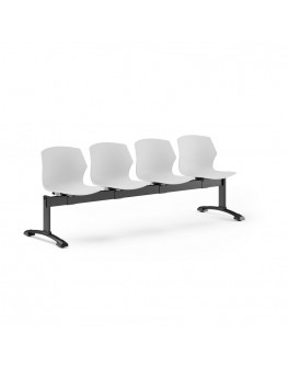 No-Frill Beam Seating - 4 Seat