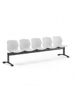 No-Frill Beam Seating - 5 Seat
