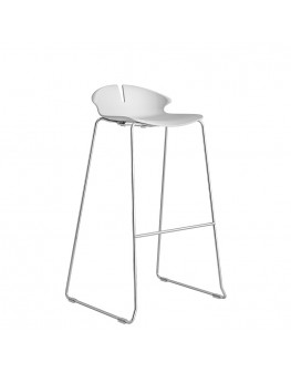 Red Hot Bar Stool - Sled