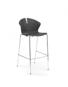 Red Hot Bar Chair - 4 Leg