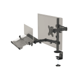 Asti - Monitor Arm With  Laptop/Notebook Holder