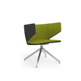 Mr Jones - Armchair Swivel Pyramid Frame