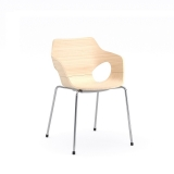 Olé Wood Armchair - 4 Leg