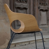 Olé Wood Armchair - Sled