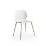 No-Frill Chair - 4 Leg Timber