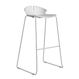 Red Hot Bar Stool (750mm) - Sled