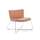 Poppea Plus Soft Armchair - Sled (Custom Order)