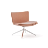 Poppea Plus Soft Armchair - Swivel Pyramid (Custom Order)