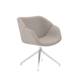 Isotta Soft Armchair - Swivel Pyramid