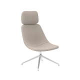 Skoop Plus Soft Chair - High Back w Head Rest Swivel Pyramid