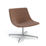 Skoop Plus Soft Chair - Low Back Swivel