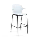 Frill Bar Chair (650mm) - 4 Leg