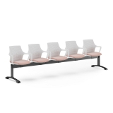 Gemina Beam Seating - 5 Seat