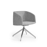 Nest Soft Tub Chair - Swivel Pyramid