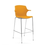 Frill Bar Chair (750mm) - 4 Leg