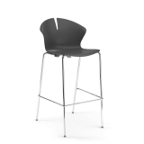 Red Hot Bar Chair (750mm) - 4 Leg